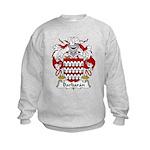 Barbaran Family Crest  Kids Sweatshirt
