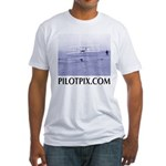 Wright Brothers First Flight Fitted T-Shirt