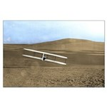 "35"" x 23"" Wilbur Wright 1902 Glider Post"