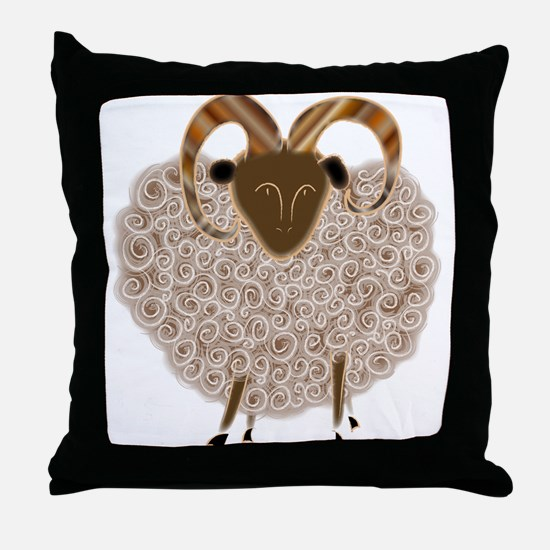 SHEEP.png Throw Pillow