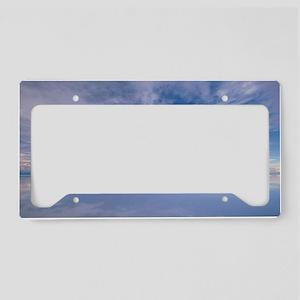 Sonic sky License Plate Holder
