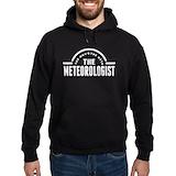 Meteorologist Dark Hoodies