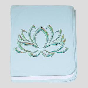 Lotus hologram baby blanket