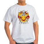 Banyeras Family Crest Light T-Shirt