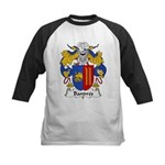 Bandres Family Crest Kids Baseball Jersey