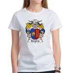 Bandres Family Crest Women's T-Shirt