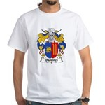 Bandres Family Crest White T-Shirt