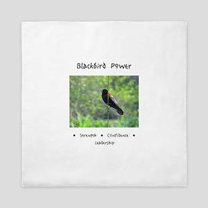 Blackbird Totem Power Queen Duvet