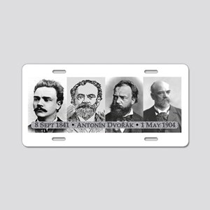 Antonin Dvorak Aluminum License Plate