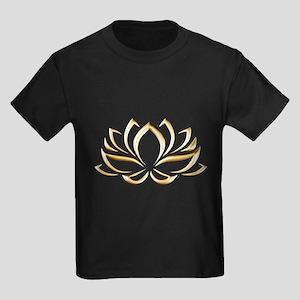 gold lotus T-Shirt