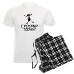 I Pooped Today! Men's Light Pajamas