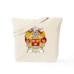 Bances Family Crest Tote Bag