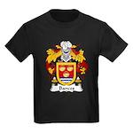 Bances Family Crest Kids Dark T-Shirt