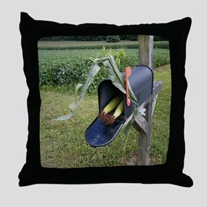 Harvest Delivery Throw Pillow