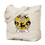 Balzola Family Crest Tote Bag