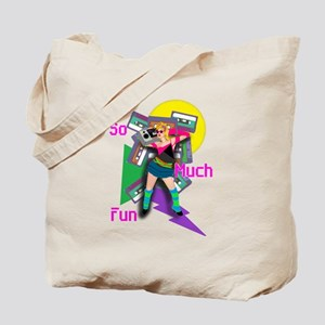 Crazy 80s Tote Bag