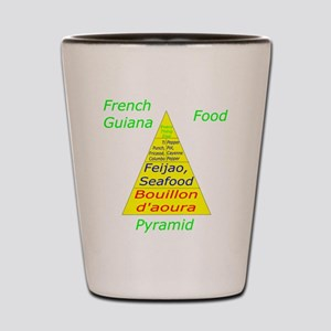 French Guiana Shot Glass
