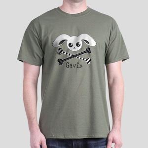 Bunny Crossbones Dark T-Shirt