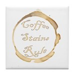 Coffee Stain Coaster