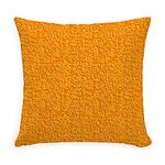 Rough Orange Everyday Pillow
