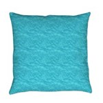 Texture Blue Everyday Pillow