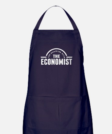 The Man The Myth The Economist Apron (dark)