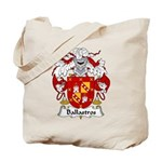 Ballastros Family Crest Tote Bag