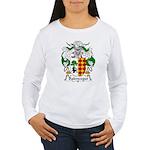 Balencegui Family Crest  Women's Long Sleeve T-Shi