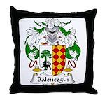 Balencegui Family Crest  Throw Pillow