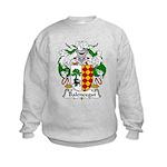 Balencegui Family Crest  Kids Sweatshirt
