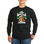Balencegui Family Crest Long Sleeve Dark T-Shirt