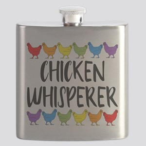 Chicken Whisperer Flask