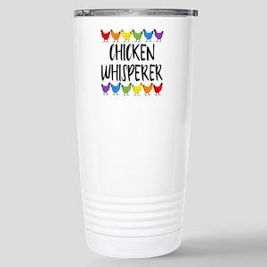 Chicken Whisperer 16 oz Stainless Steel Travel Mug