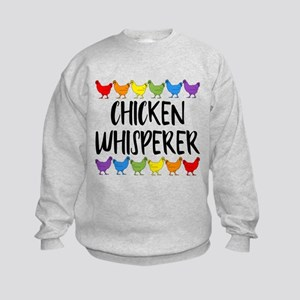 Chicken Whisperer Kids Sweatshirt