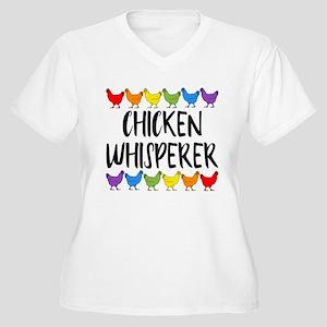 Chicken Whisperer Women's Plus Size V-Neck T-Shirt