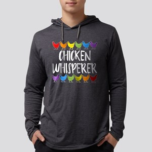 Chicken Whisperer Mens Hooded Shirt