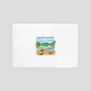 Jordan Pond - Acadia National Park 4' x 6' Rug