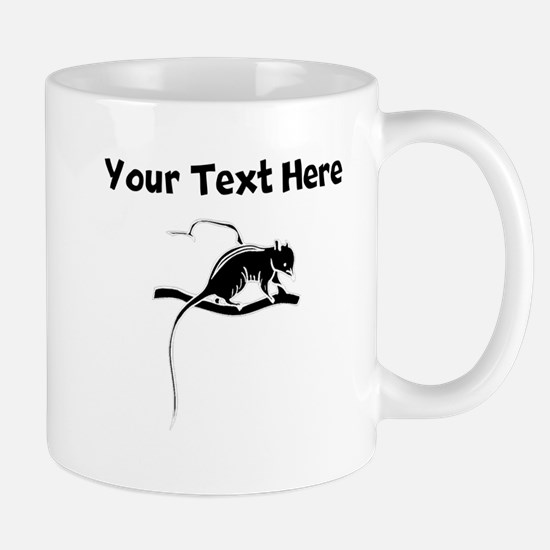 Custom Shrew Silhouette Mugs