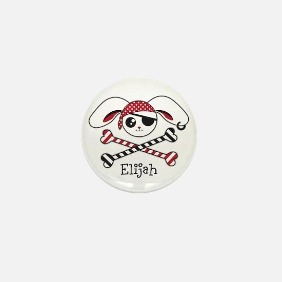 Pirate Bunny Mini Button