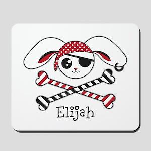 Pirate Bunny Mousepad