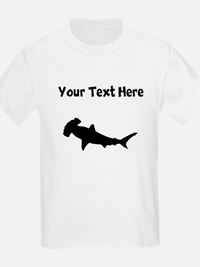 custom hammerhead shark silhouette t shirt