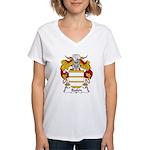 Bailen Family Crest Women's V-Neck T-Shirt