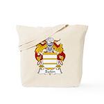 Bailen Family Crest Tote Bag