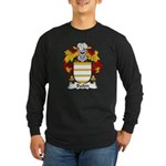 Bailen Family Crest Long Sleeve Dark T-Shirt