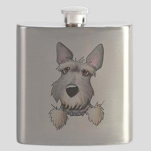 Pocket Schnauzer Flask