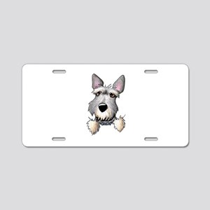 Pocket Schnauzer Aluminum License Plate