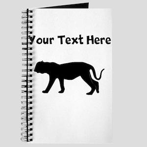 Custom Puma Silhouette Journal