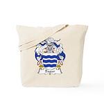 Bagur Family Crest Tote Bag