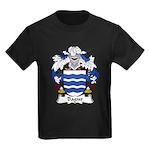 Bagur Family Crest Kids Dark T-Shirt