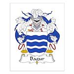 Bagur Family Crest Small Poster